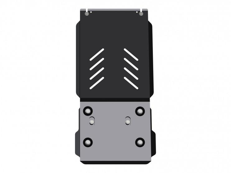 Защита КПП и РК сталь 3 мм Шериф 04.2545 Dodge RAM 1500 2010–