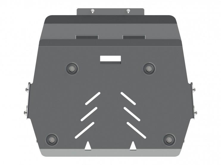 Защита картера и КПП алюминий 5 мм Шериф 04.2581 Cadillac ATS 2013–