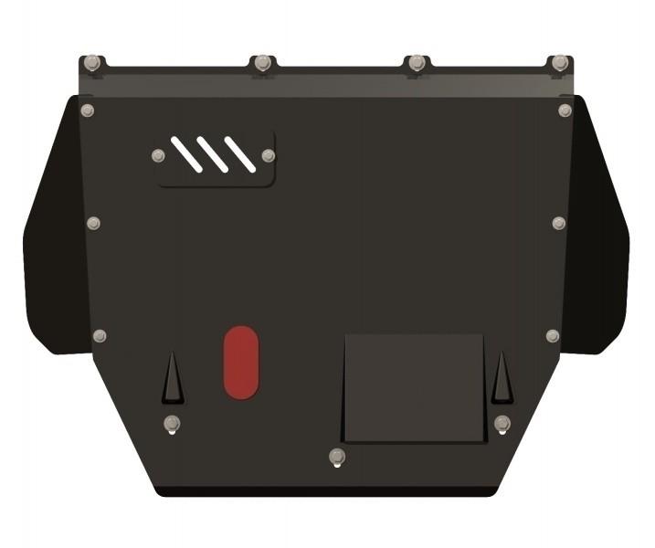 Защита картера и КПП сталь 2 мм Шериф 05.0446 Citroen Jumper 2002–2006