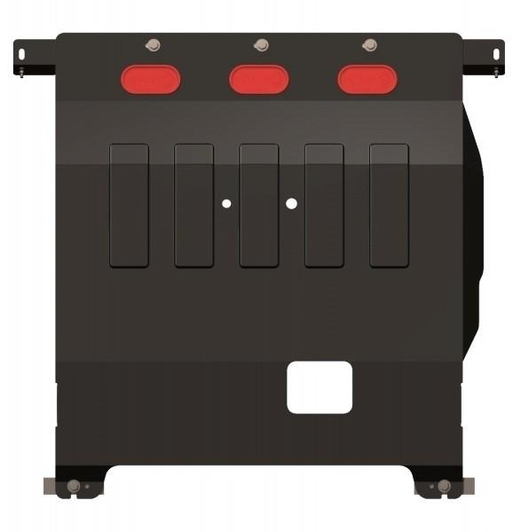 Защита картера и КПП сталь 2,5 мм Шериф 05.1200 Citroen Jumper 2006–