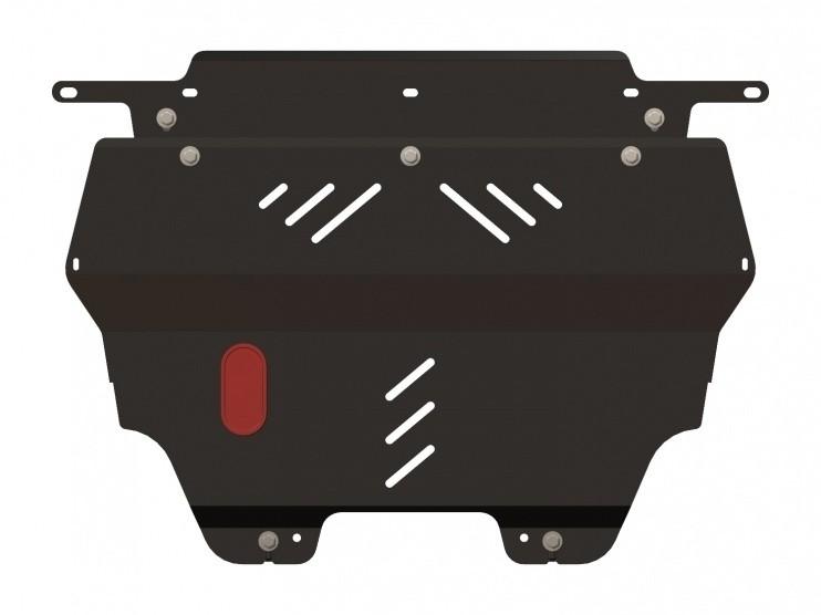 Защита картера и КПП сталь 2 мм Шериф 05.1490 Citroen Berlingo 2008–