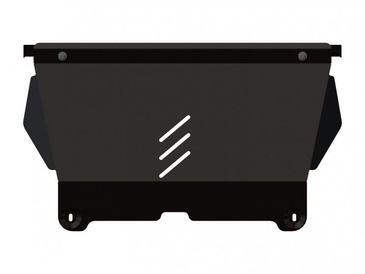 Защита картера и КПП сталь 2 мм Шериф 05.2153 Citroen C5 2010–