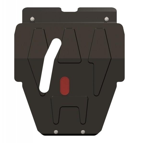Защита картера и КПП сталь 2 мм Шериф 06.0156 Daewoo Nexia 2012–