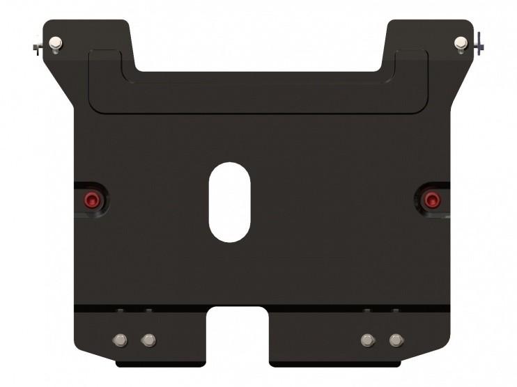 Защита картера и КПП сталь 2 мм Шериф 06.0524 V1 Daewoo Matiz 1998–