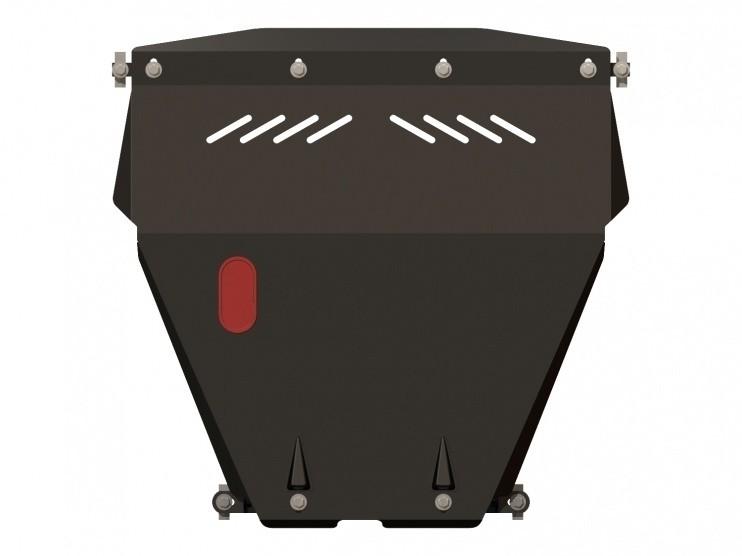 Защита картера и КПП сталь 2 мм Шериф 06.0579 Daewoo Sens 2003–