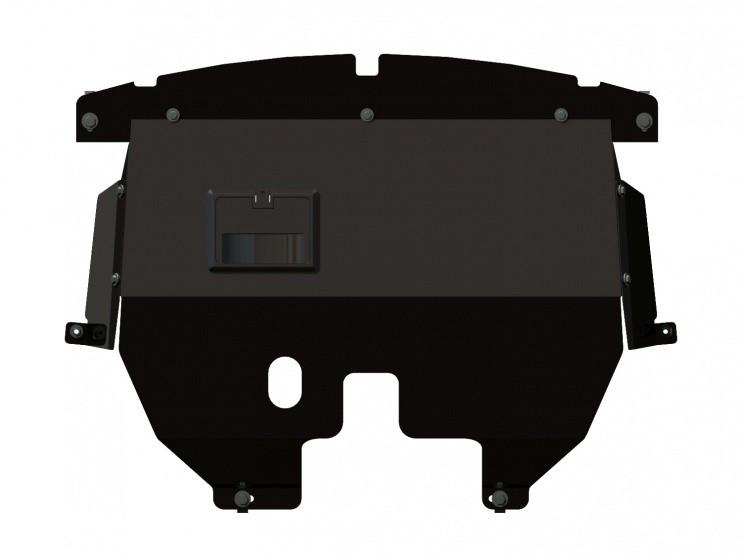 Защита картера и КПП сталь 2 мм Шериф 07.0666 Fiat Doblo –2001