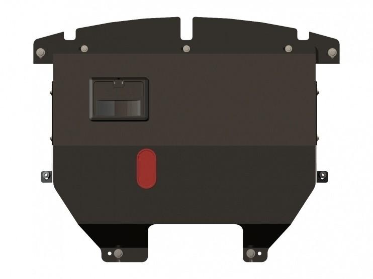 Защита картера и КПП сталь 2 мм Шериф 07.0874 Fiat Doblo 2004–2007–