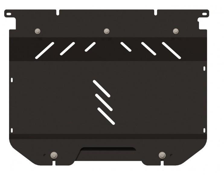 Защита картера и КПП сталь 2 мм Шериф 07.0998 Fiat Grande Punto 2012–