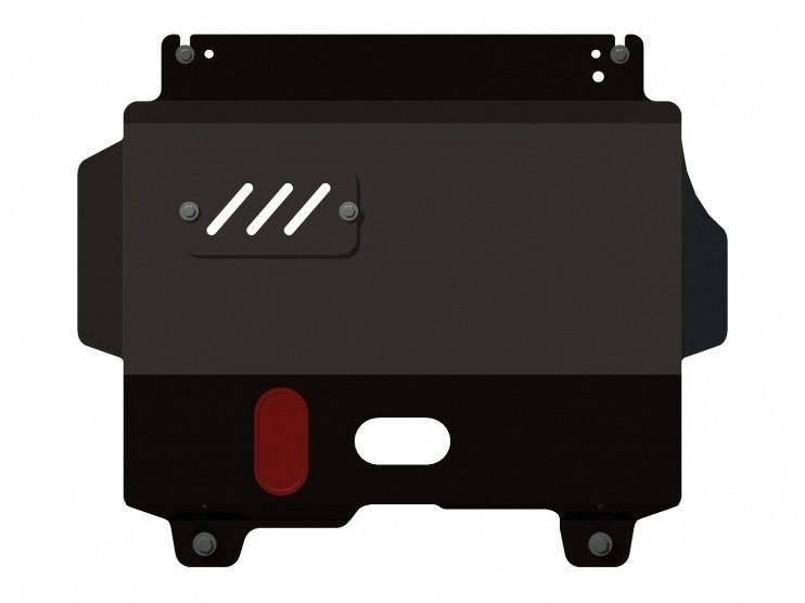 Защита картера и КПП сталь 2 мм Шериф 07.1066 Fiat Albea 2002–2011