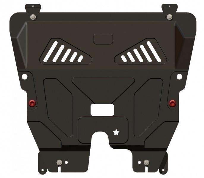 Защита картера и КПП сталь 2 мм Шериф 07.1520 Fiat 500 2007–2012, 2012–