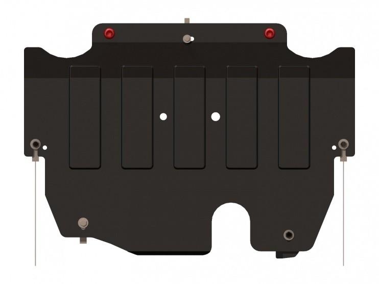 Защита картера и КПП сталь 2 мм Шериф 08.0982 Ford S-Max 2006–