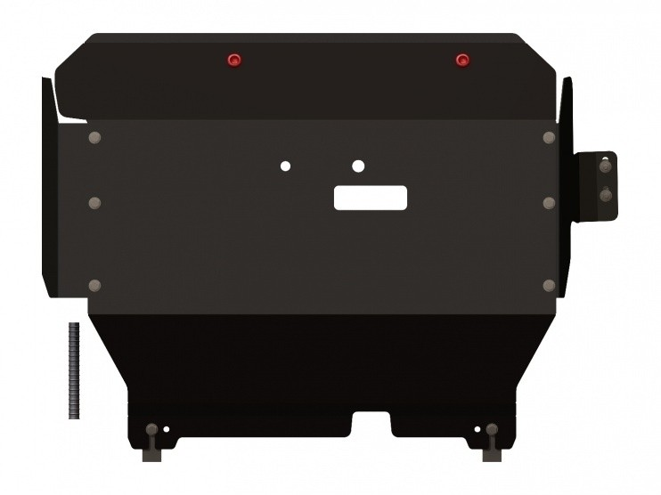 Защита картера и КПП сталь 2 мм Шериф 08.1002 Ford Transit передний привод –2006