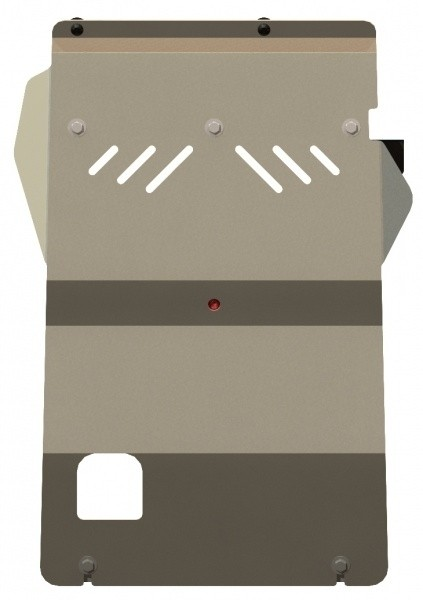 Защита картера алюминий 5 мм Шериф 08.1166 Ford Ranger 2007–
