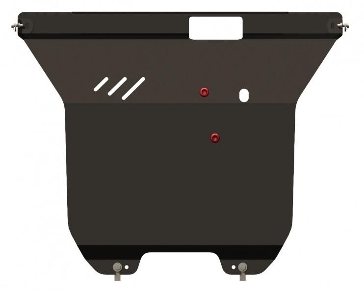 Защита картера и КПП сталь 2 мм Шериф 08.1269 Ford Escape 2004–2007