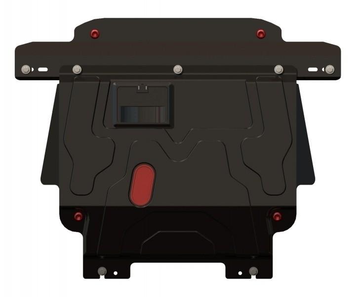 Защита картера и КПП сталь 2 мм Шериф 08.1301 Ford Fiesta 2001–2008