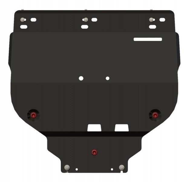 Защита картера и КПП сталь 2 мм Шериф 08.1447 V1 Ford Focus II 2005–2011