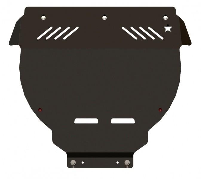 Защита картера и КПП сталь 2,5 мм Шериф 08.1509 Ford Focus II ST 2006–2011