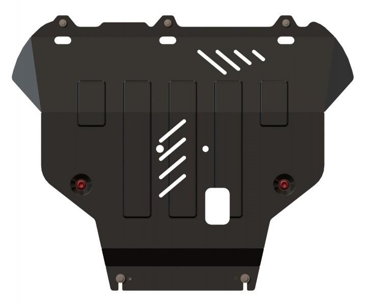 Защита картера и КПП сталь 2 мм Шериф 08.2070 Ford Focus III 2011–