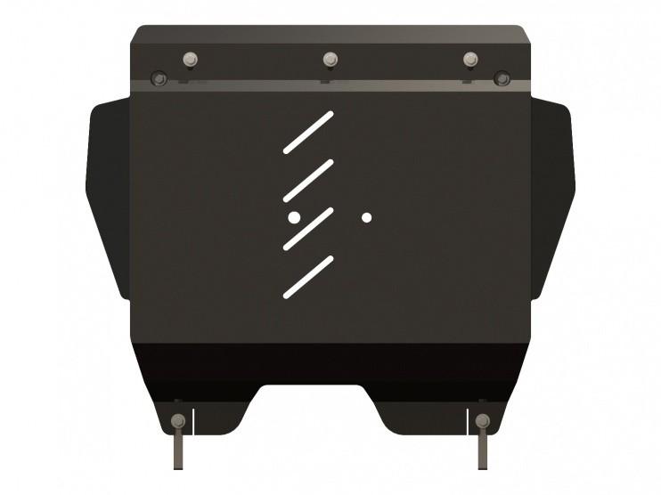 Защита картера и КПП сталь 2,5 мм Шериф 08.2085 V1 Ford Explorer 2010–