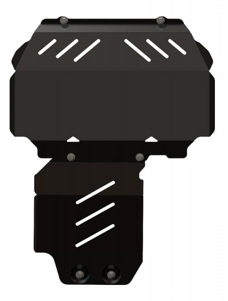 Защита картера сталь 3 мм Шериф 08.2169 Ford Ranger 2011–