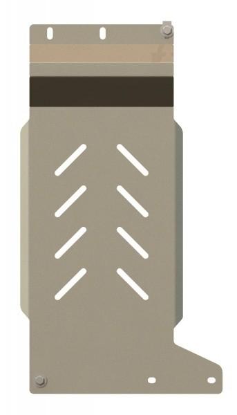 Защита КПП алюминий 5 мм Шериф 08.2172 Ford Ranger 2011–