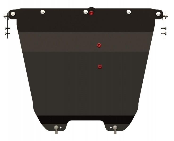 Защита картера и КПП сталь 2,5 мм Шериф 08.2301 Ford Escape сборка  США 2007–