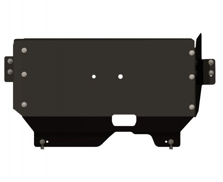Защита картера и КПП сталь 3 мм Шериф 08.2352 V1 Ford Transit/Tourneo Customs передний привод 2013–