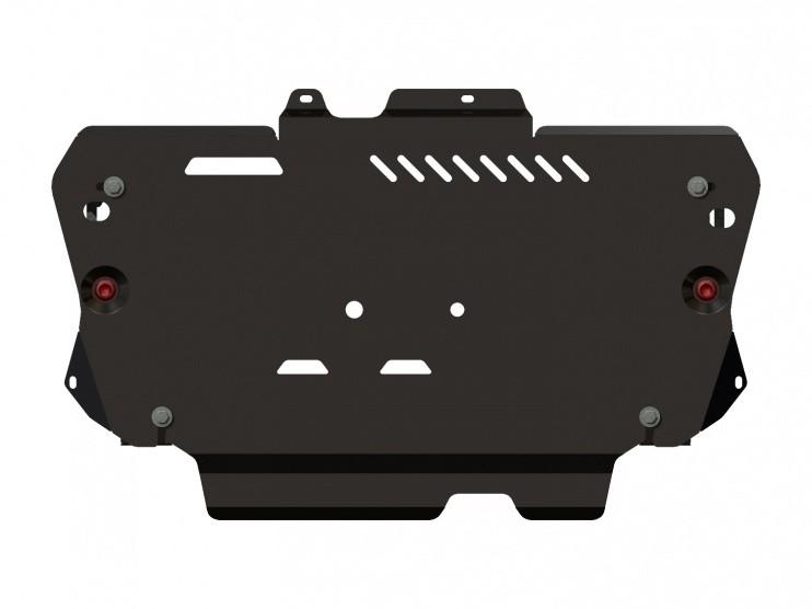 Защита картера и КПП сталь 2,5 мм Шериф 08.2367 V1 Ford Kuga 2013–