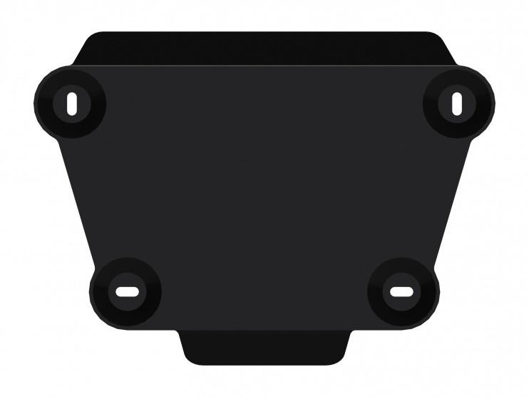 Защита редуктора сталь 2 мм Шериф 08.2444 Ford Kuga 2013–
