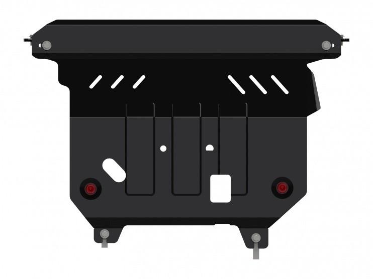 Защита картера и КПП сталь 2,5 мм Шериф 08.2507 V2 Ford Eco Sport 2014–