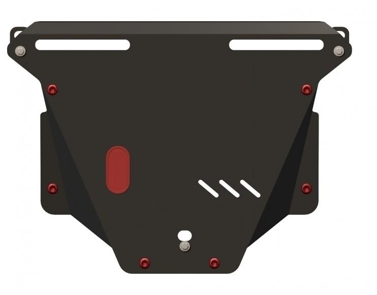 Защита картера и КПП сталь 2,5 мм Шериф 09.0707 Honda Stepwgn 2005–