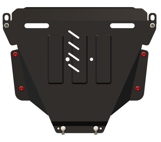 Защита картера и КПП сталь 2,5 мм Шериф 09.1082 Honda CR-V 2007–2012