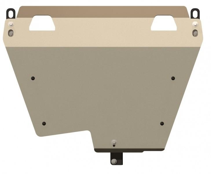 Защита картера и КПП алюминий 4 мм Шериф 09.1446 Honda Accord 2008–2012