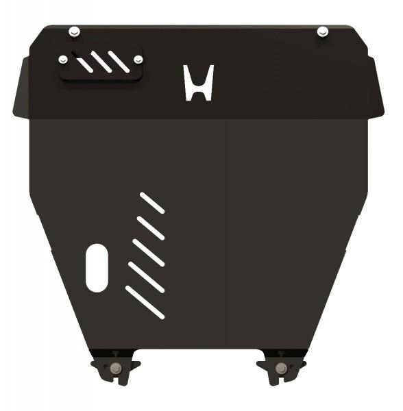 Защита картера и КПП сталь 2,5 мм Шериф 09.1506 Honda Pilot 2008–2011