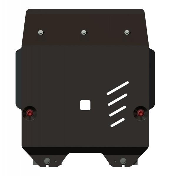 Защита картера и КПП сталь 2 мм Шериф 09.1652 Honda Fit 2007–2013
