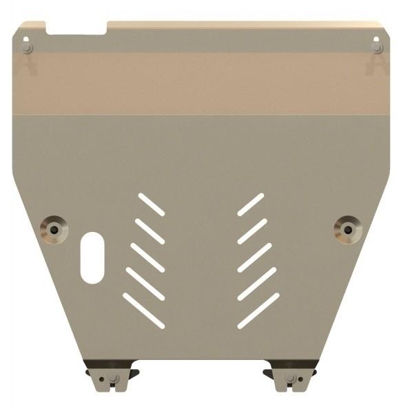 Защита картера и КПП алюминий 5 мм Шериф 09.2245 Honda Pilot 2012–