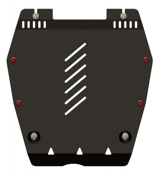 Защита картера и КПП сталь 2,5 мм Шериф 09.2257 Honda Civic 4D 2012–