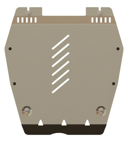 Защита картера и КПП алюминий 5 мм Шериф 09.2258 Honda Civic 4D 2012–