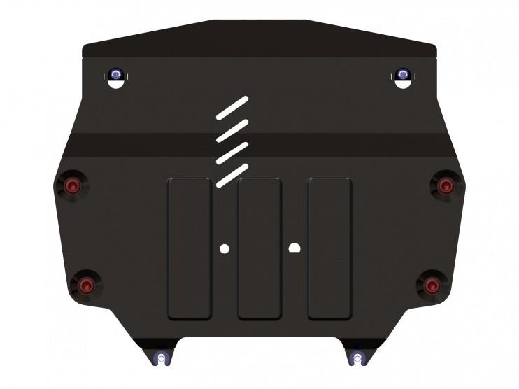 Защита картера и КПП сталь 2,5 мм Шериф 09.2391 Honda CR-V 2012–
