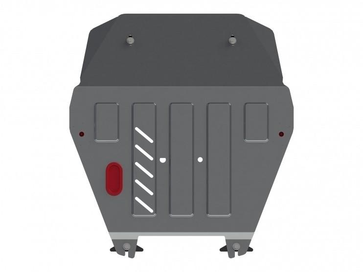 Защита картера и КПП алюминий 5 мм Шериф 09.2693 Honda Ridgeline 2009–2014