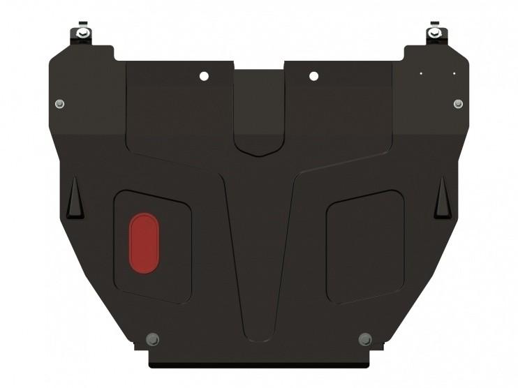 Защита картера и КПП сталь 2 мм Шериф 10.0642 Hyundai Accent (ТАГАЗ) 2000–2005