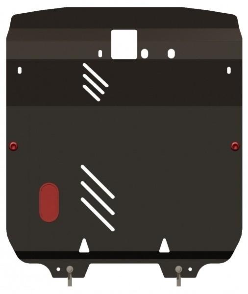 Защита картера и КПП сталь 2 мм Шериф 10.0900 Hyundai Santa Fe 2006–09.2012