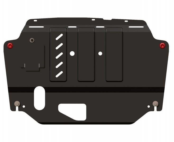 Защита картера и КПП сталь 2 мм Шериф 10.1048 Hyundai i30 2008–2012