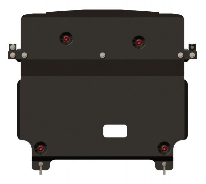 Защита картера и КПП сталь 2,5 мм Шериф 10.2308 Hyundai Santa Fe 09.2012–