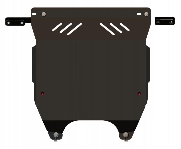 Защита картера и КПП сталь 2 мм Шериф 10.2318 Hyundai i10 2012–
