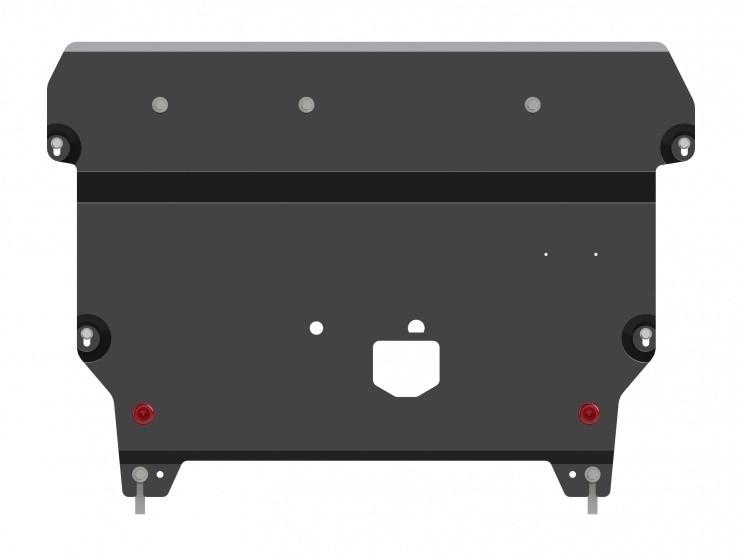 Защита картера и КПП сталь 2 мм Шериф 10.2512 V1 Hyundai i30 2012–
