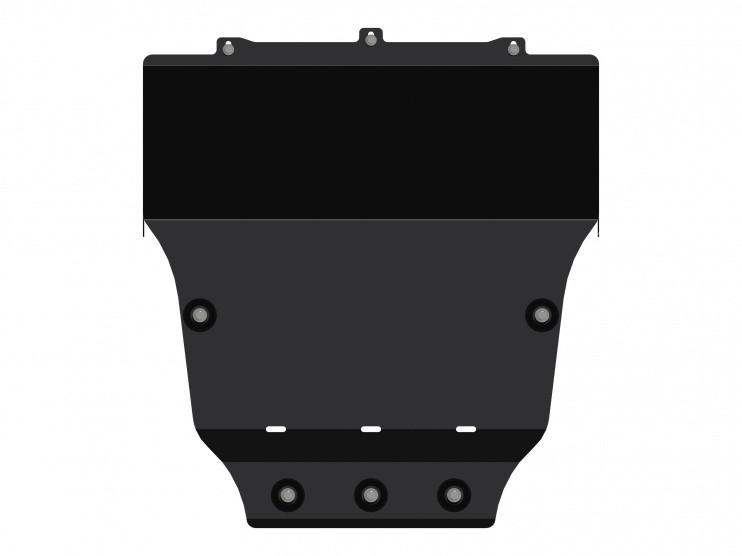 Защита картера сталь 3 мм Шериф 10.2593 Hyundai Grand Starex 2014–