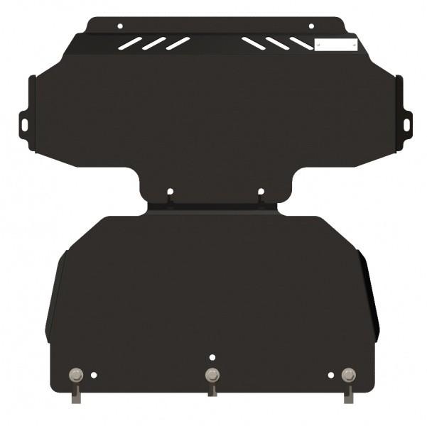 Защита картера сталь 2,5 мм Шериф 11.0989 KIA Sorento 2006–2009
