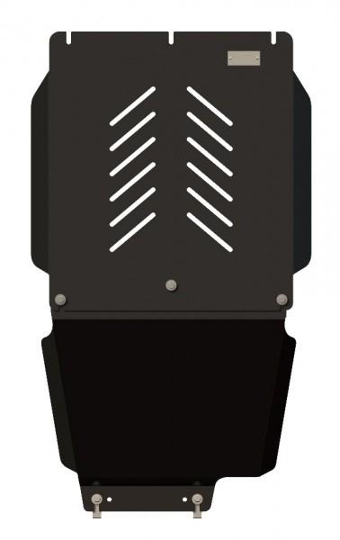 Защита КПП и РК сталь 2,5 мм Шериф 11.0990 KIA Sorento 2006–2009