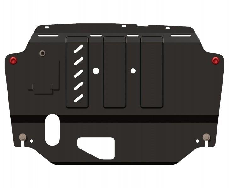 Защита картера и КПП сталь 2 мм Шериф 11.1048 KIA Cee'd (Cee'd SW, Pro Cee'd)  2007–2012